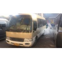 Quality 2012 Coaster Brand Second Hand Bus 29 Seats Petrol Engine No Accident for sale