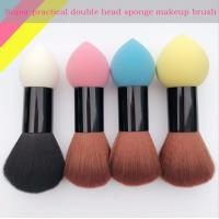 Buy cheap Double Head Makeup Foundation Brush Powder Puff Synthetic Hair and Sponge Hair from wholesalers