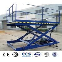 Buy cheap Electric Hydraulic Car Lift Platform Warehouse Goods Scissor Lifter For Sale from wholesalers