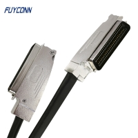 Quality 100pos RJ21 Telco Trunk Cable Assembly One End With 2pcs Connector for sale
