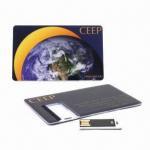 Quality Card-tab Custom Flash Drives for sale
