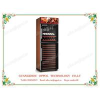 Quality OP-416 OEM ODM Accepted Freestanding Air Cooling Red Wine Display Refrigerator for sale
