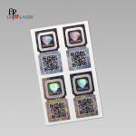 Quality Silver Laser hologram original sticker with custom logo for sale