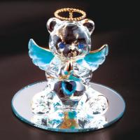Quality light up glass angel for sale