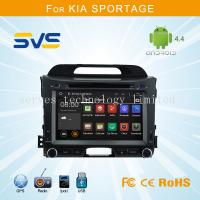 Quality Android 4.4 car dvd player GPS navigation for KIA Sportage R 2010-2014 quad core in Dash for sale