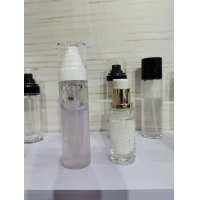 Quality frosted 50ml 100ml Wholesale Various Capacity Acrylic Airless Pump Skincare Cosmetic Bottles for sale