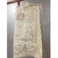 Buy cheap Unisex White Baby Sweater Set , Easy Knitting 3 Pcs Baby Boy Sweater Sets from wholesalers
