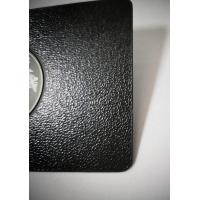 Quality Luxurious SS Metal Member Cards Laser Engrave Etch Logo Leather Pattern for sale