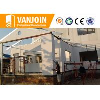 Quality Ecological Modern Prefab Modular Homes By High Strength EPS Cement Wall Panel for sale