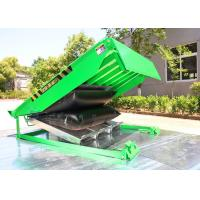 Quality High Performance Air Bag Dock Leveler , Push Button Airbag Lifting Load Dock Leveler for sale