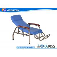 Quality Reclining Stainless Steel Medical Dialysis Chair / Blood Donor Chair for sale