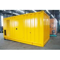 Buy Soundproof Silent Diesel Generator Set 2500kva 400 / 230V AC Three Phase Output at wholesale prices