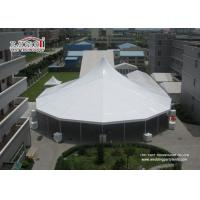 Quality Heavy Duty White High Peak Tents / Marquees , Clear Span Tents Structure For Event for sale