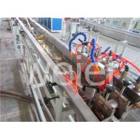Quality Precision Single screw plastic extrusion machinery for pvc three color printing edge band for sale