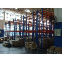 Quality Powder Coating Double Deep Pallet Rack Anti-rust 2000KG for Factory for sale