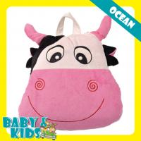 Quality Lovely Cow Shaped Soft Baby Safety Products Children Blanket Pillow for Take Rest for sale