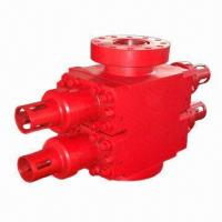 Quality Cameron Type Hydraulic Double RAM BOP Blowout Preventer with Flange/Studding End Connection for sale