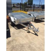 Quality Hot Dipped Galvanised 8x5 Single Axle Trailer 750kg Capacity for sale