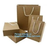 China paper carrier bag luxury printed paper gift bag raw materials of brown paper bag wholesale,luxury shopping black packagi on sale