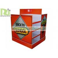 Quality Advertising Supermarket Pallet cardboard pos display stands For clothes for sale