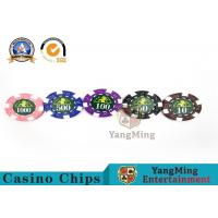 Quality Professional Casino 760 Custom Deluxe Poker Chip Set With Aluminum Alloy Case for sale