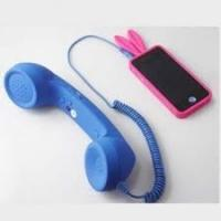 Quality Blue 2.5m durability Anti Radiation coco phone Retro Handsets For Iphone 4 / 4S for sale