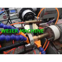 Quality Durable HDPE Pipe Extrusion Machine , PE Spiral Protective Tubes Making Machine for sale