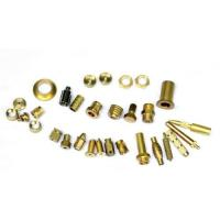 Mirror Polished Brass Electrical Parts , Brass Machined Parts ISO9001