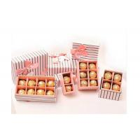 Quality Stripe Pattern Different Size/Shape Cardboard Chocolate Strawberry Boxes for sale
