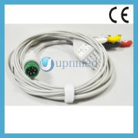 Quality MEK 6pin One piece ECG Cable with leadwires for sale