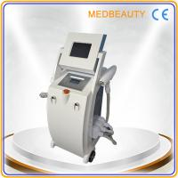 Quality 2014 New designed 4 in 1 RF+E-light+IPL+ND YAG LASR fast hair removal beauty machine for sale