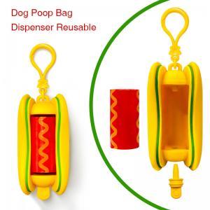 China Biodegradable  Dog Waste Poop Bagswith Dispenser Hot selling Customized 5%  EPI Dog Poop Bag on sale