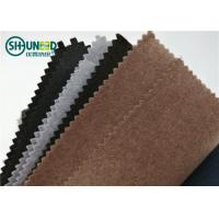 Quality Soft Polyester Lining Needle Punch Nonwoven Fabric Roll For Garment Collar for sale