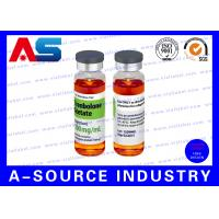 Quality Testosterone Enanthate 250 Steroid Vial Labels Plastic Waterproof for sale