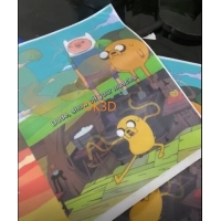 Quality OK3D Lenticular sheeting lenticular fabric clothing – Special Effects and Coatings 3d printing flip lenticular fabric for sale