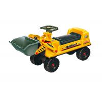 Quality Pretend Play Ride On Trucks For Toddlers , Plastic Bulldozer Sliding Car for sale