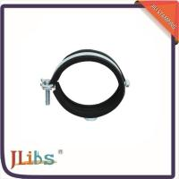 Quality Pipe Clamp Fittings Heavy Duty Hose Clamps With Rubber Profile / Combi Nut for sale