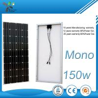 Quality Photovoltaic Monocrystalline Solar Panel , 170W Flexible PV Module For Greenhouse for sale