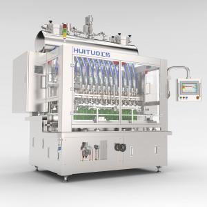Quality Minimum 5000 BPH 12 / 24 Heads Liquid Bottle Filling Machine for sale