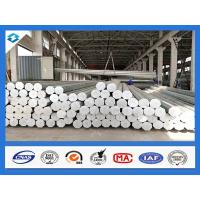 Quality 35FT 3mm Thick Q345 500KGF Load Galvanized Electric Steel Poles for sale