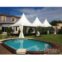 Buy cheap 6mx6m Promotion Application Aluminum Alloy Frame Pagoda Tent for Sale from wholesalers