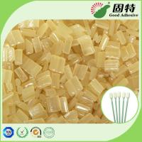 Quality Yellow Block Industrial Hot Melt Glue , Disposable Cotton Swab Hot Melt Pellets for sale
