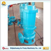 Quality single channel impeller cast iron sewage water pumping machine for sale