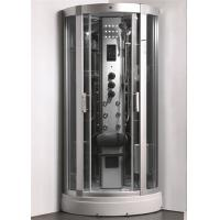 Quality Enclosed Steam Shower Bath Cabin Spa Shower Enclosures With Aluminum Alloy Column for sale