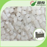 Quality Spine Bookbinding Hot Melt Glue Pellets , Yellowish Industrial Strength Hot Glue for sale