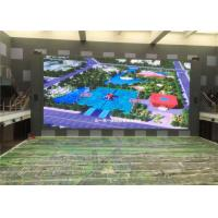 Quality 6m x 4m Electronic Advertising LED Screens Water Proof Outdoor TV Screen 1R1G1B P8 / P10 for sale