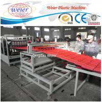 Quality Polycarbonate Corrugated Roof Sheeting Machine Plastic Extrusion Line Width 1000mm for sale