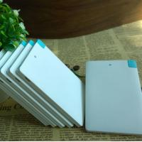Quality Small Personalised Promotional Products / Credit Card Power Bank Charger for sale