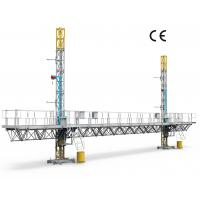 Quality Reliable Mast Climbing Platform Building Wall Construction And Decoration for sale