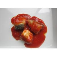 Quality Canned Sardines Fish Body Part / Whole Piece In Tomato Sauce & Chili for sale